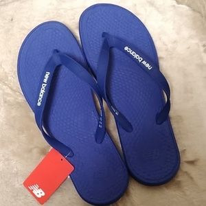 NWT New Balance Men's Thong Flip Flop Sandals 11